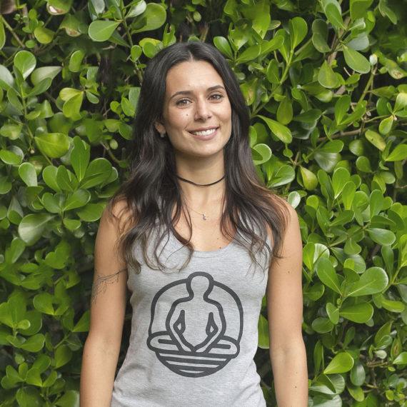 Professora Mariana de Yoga em Florianópolis