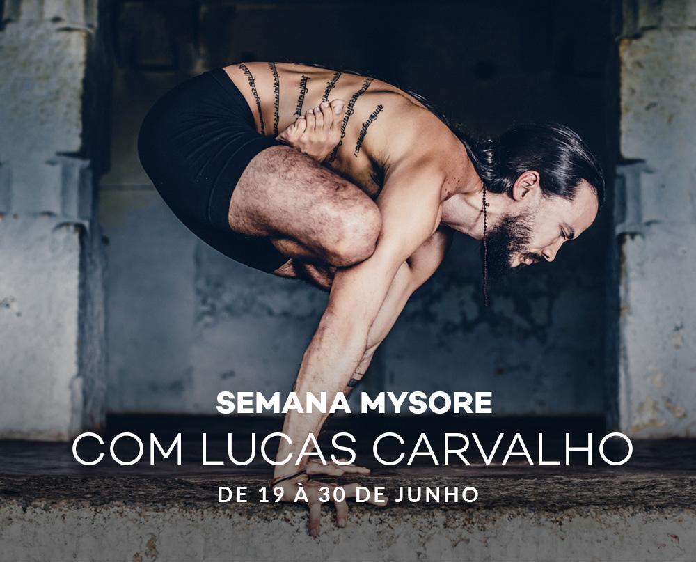 Semana de Yoga Mysore com Lucas Carvalho