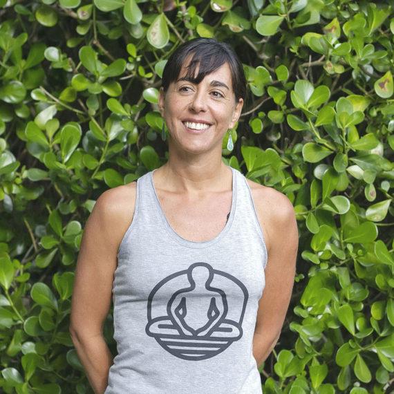 Professora Ana Maria Alejandra de Yoga em Florianópolis