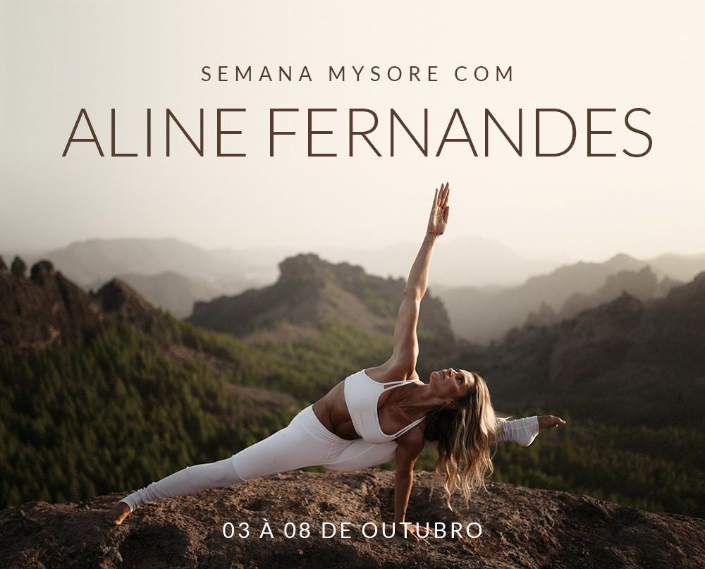 Semana de Yoga com Aline Fernandes
